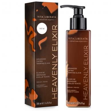 Heavenly Elixir - Dangiškas savaiminio įdegio eliksyras, 200 ml. 3